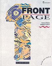 Cover of: Front Page