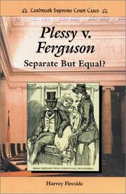 Cover of: Plessy v. Ferguson