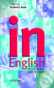 Cover of: In English (Elt)