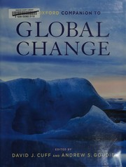 Cover of: The Oxford companion to global change