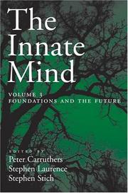 Cover of: The Innate Mind
