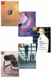 Cover of: Oxford History of Art Series - Contemporary Art Set