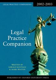 Cover of: Legal Practice Companion