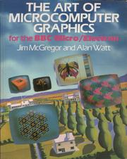 Cover of: The Art of Microcomputer Graphics