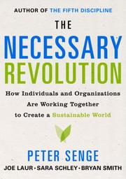 Cover of: The Necessary Revolution