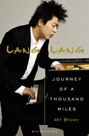 Cover of: Journey of a Thousand Miles