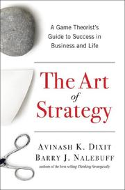 Cover of: The Art of Strategy