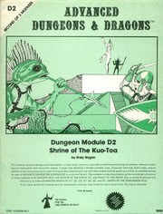 Cover of: Shrine of the Kuo-Toa