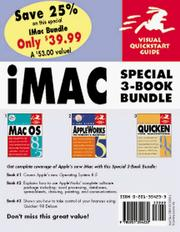 Cover of: iMac Bundle