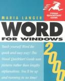 Cover of: Office 2000 (Visual QuickStart Guide)