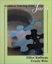 Cover of: Problem Solving with Java