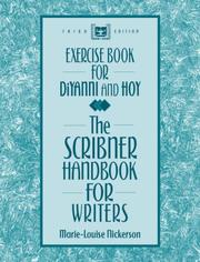 Cover of: Exercise Book for the Scribner Handbook for Writers