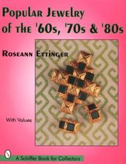 Cover of: Popular jewelry of the '60s, '70s & '80s