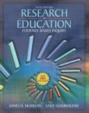 Cover of: Research in Education