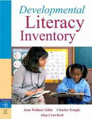 Cover of: Developmental Literacy Inventory
