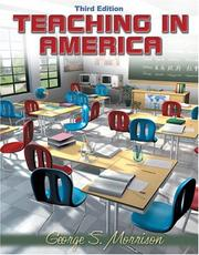 Cover of: Teaching in America, MyLabSchool Edition (3rd Edition)