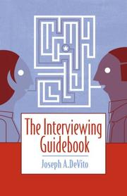 Cover of: The Interviewing Guidebook