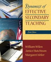 Cover of: Dynamics of Effective Secondary Teaching (6th Edition)