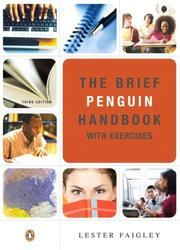 Cover of: Brief Penguin Handbook with Exercises, The