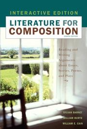 Cover of: Literature for Composition, Interactive Edition