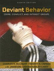 Cover of: Deviant Behavior