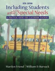 Cover of: Including Students With Special Needs