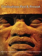 Cover of: Civilizations Past & Present, Combined Volume (12th Edition) (MyHistoryLab Series)