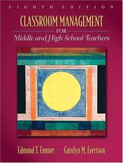 Cover of: Classroom Management for Middle and High School Teachers (8th Edition) (MyEducationLab Series)