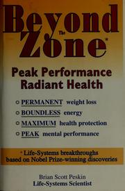 Cover of: Beyond the zone