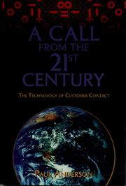 Cover of: A call from the 21st century