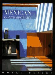 Cover of: Mexican contemporary