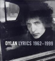Cover of: Bob Dylan Lyrics, 1962-96