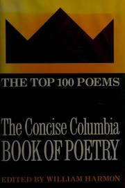 Cover of: The Concise Columbia Book of Poetry