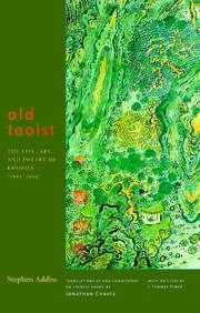 Cover of: Old Taoist: the life, art, and poetry of Kodōjin (1865-1944)