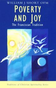 Cover of: Poverty and Joy (Traditions of Christian Spirituality)