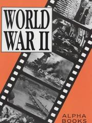 Cover of: World War II (Alpha History)