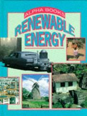 Cover of: Renewable Energy