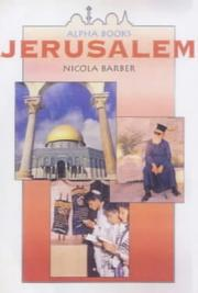 Cover of: Jerusalem (Alpha Holy Cities)
