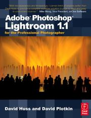 Cover of: Adobe Photoshop Lightroom 1.1 for the Professional Photographer