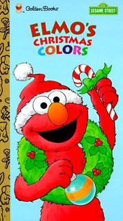 Cover of: Elmo's Christmas colors