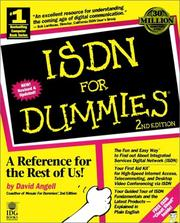 Cover of: ISDN for dummies