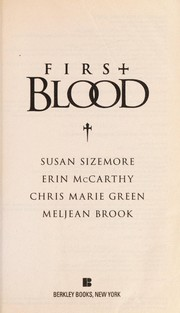 Cover of: First Blood