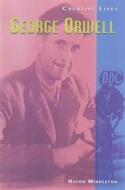 Cover of: George Orwell (Creative Lives)