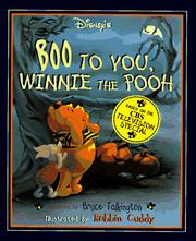Cover of: Disney's Boo to You, Winnie the Pooh!