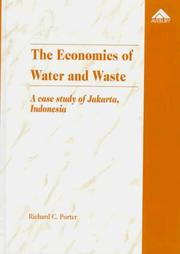 Cover of: The economics of water and waste