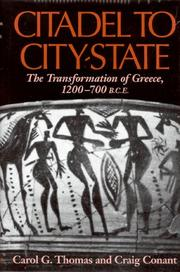 Cover of: Citadel to City-State