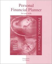 Cover of: Personal Financial Planner for use with Personal Finance