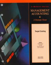 Cover of: Target Costing Version 1.1 (Module