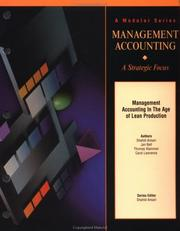 Cover of: Management Accounting in the Age of Lean Production: Version 1.1