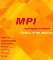 Cover of: MPI